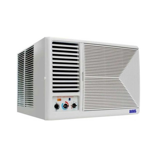 HAAS Window Air Conditioner 18000 BTU Hot and Cold HO19E8H5YL