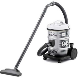 HITACHI Vacuum Cleaner 1800 Watt 18 Liter Black CV945Y