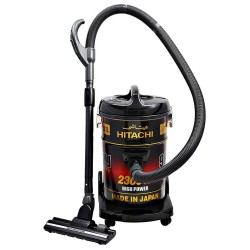 HITACHI Vacuum Cleaner 2300 Watt 21 Liter Black and Red CV9800YJ