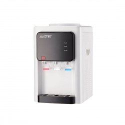 Brafco 3 Taps Water Dispenser Top Load Countertop White