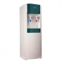 UGINE Water Dispenser Stand White and Dark Green